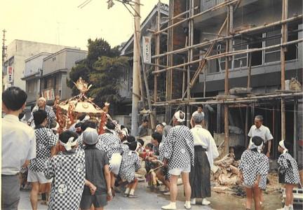 1970年生国魂神社夏祭り